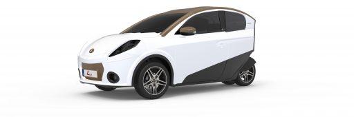 Une voiture 100% électrique et 100% belge au salon de l'auto 2017
