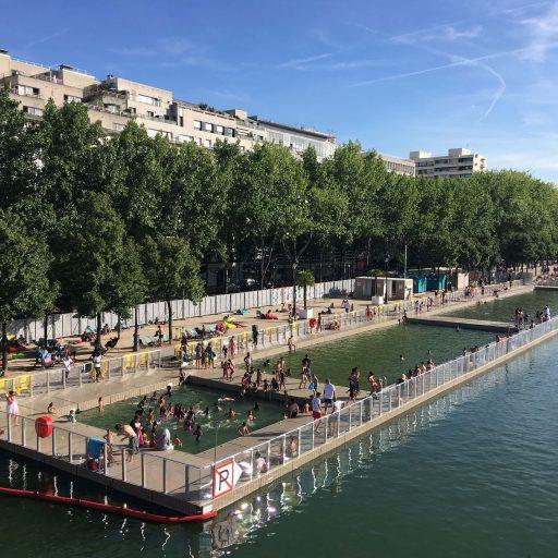 Baignade en eau naturelle Paris